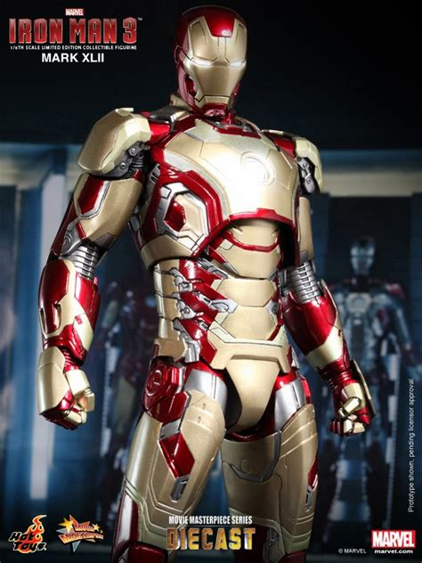 iron man    masterpiece series diecast iron