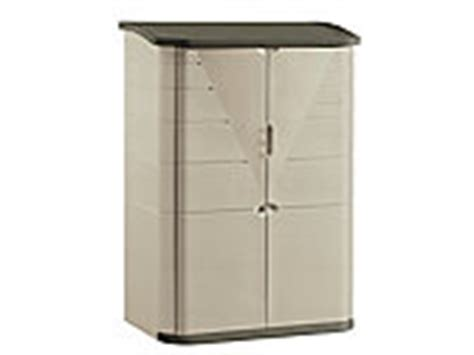 Rubbermaid Roughneck Medium Vertical Shed by Discontinued Outdoor Products Rubbermaid