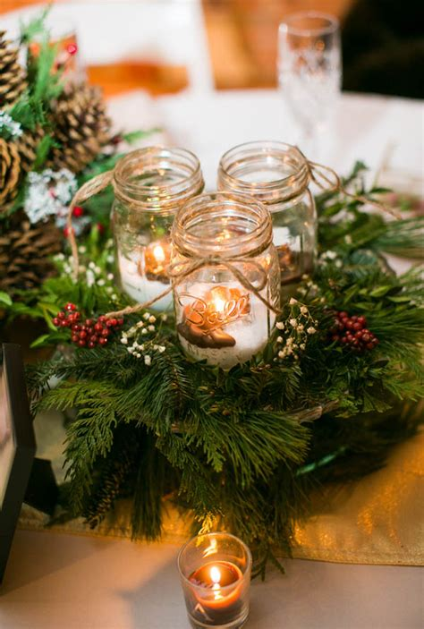 christmas wedding centerpieces decorations