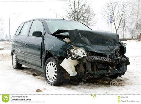 Broken Car Stock Photo. Image Of Destruction, Impact