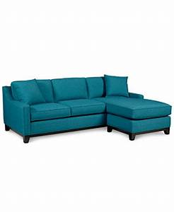 keegan fabric 2 piece sectional sofa furniture macy39s With macy s small sectional sofa