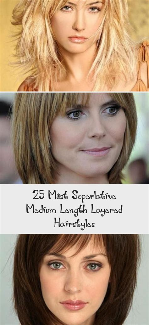 The 25 most superlative mid length layered hairstyles