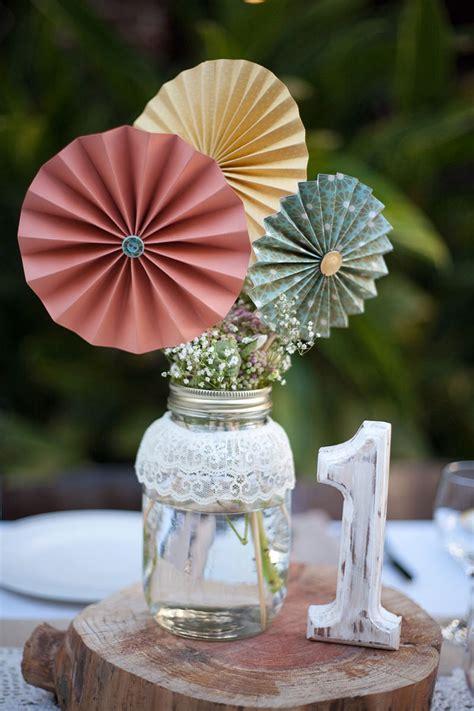 ideias fofas de decoracao de casamento  origami