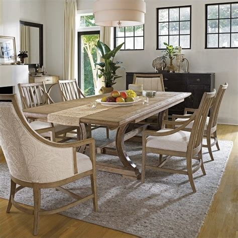 stanley furniture dining table stanley furniture shelter bay 7 piece dining set in