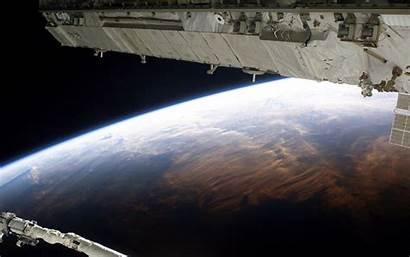 Station Space International Earth Background Wallpapers Desktop