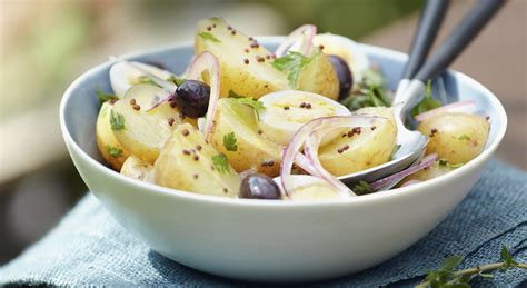 cuisine cyril lignac salade gourmande de pommes de terre grenaille