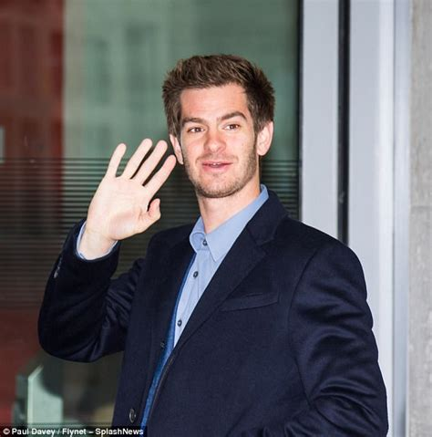 andrew garfield video andrew garfield stuns in blue suit heading to bbc studio