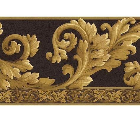 metallic gold wallpaper borders gallery