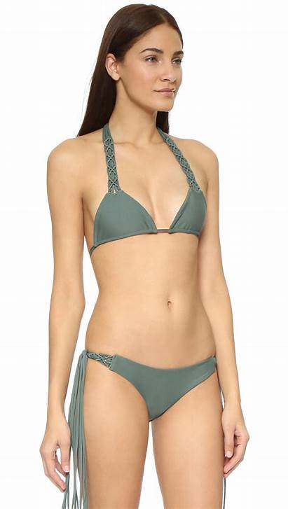 Bikini Kula Swimwear Lyst Mikoh Night Army