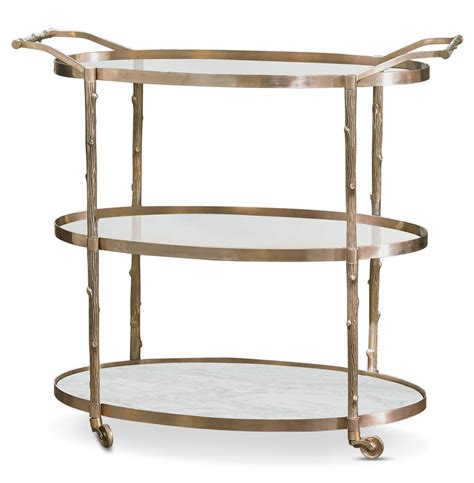 172 best bar carts images vineyard regency 3 shelf brass bar cart kathy