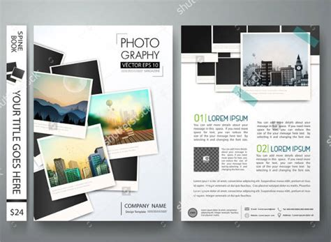 photography business brochures designs templates