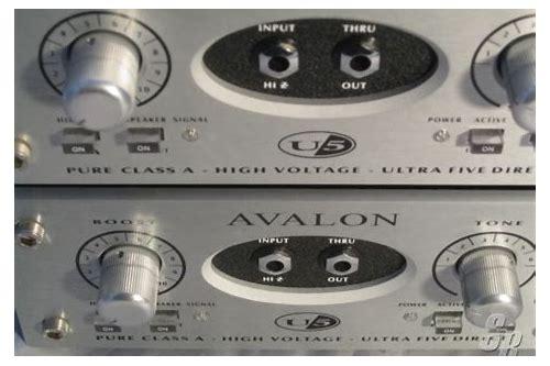 Avalon 737 Manual