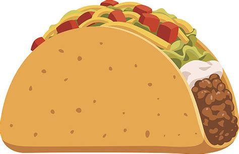 Royalty Free Taco Clip Art, Vector Images & Illustrations