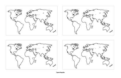 Suporte Geográfico: MAPAS MÚNDI PARA COLORIR