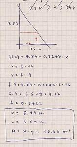 Fehler Des Mittelwertes Berechnen : fl cheninhalt eines rechteckes in einem gleichschenkligen dreieck berechnen mathelounge ~ Themetempest.com Abrechnung