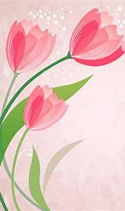 Vector Floral Background Lovely Flowers ~ Artline : Feel ...