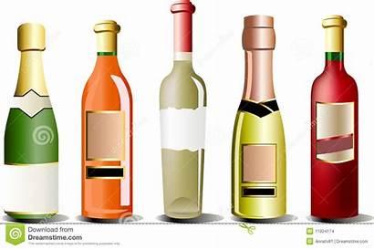 Alcohol Bottles Bottle Vector Liquor Clipart Clipartmag
