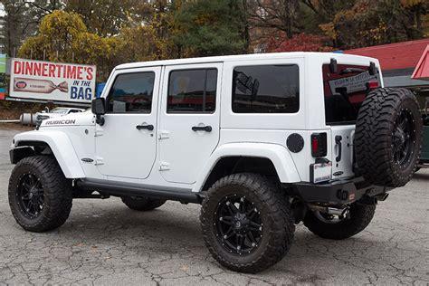 custom jeep white custom 2015 jeep wrangler rubicon unlimited white