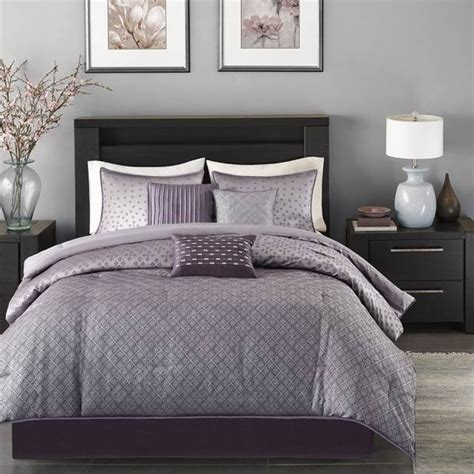 shop madison park biloxi purple bed covers the home