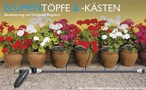 Blumenkästen Mit Bewässerung : bew sserung von blument pfen k sten bj ~ Lizthompson.info Haus und Dekorationen