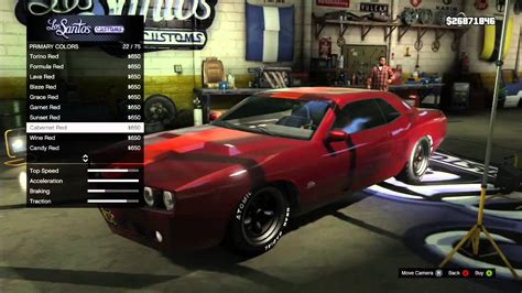 Gta V Muscle Car Customization [xbox 360]