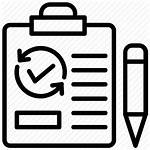 Project Icon Testing Management Report Document Icons