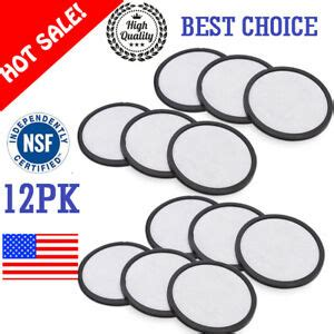Coffee water filter replacement disc in pdq tray, 2 carbon activated. Mr Coffee Activated Charcoal Water Filter Disc Replacement - 12PK Fast Shipping | eBay