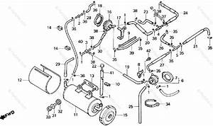 Honda Motorcycle 1986 Oem Parts Diagram For Canister