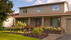 realisation cote jardin en facade plani paysage With amenagement jardin facade maison