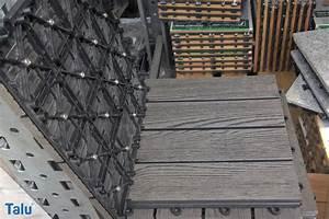 Terrasse Neu Fliesen : holzfliesen terrasse verlegen gw14 hitoiro ~ Lizthompson.info Haus und Dekorationen