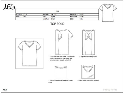tech pack template tech pack template startup fashion