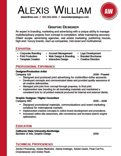 c keyword template resume template keyword optimized for a graphic designer