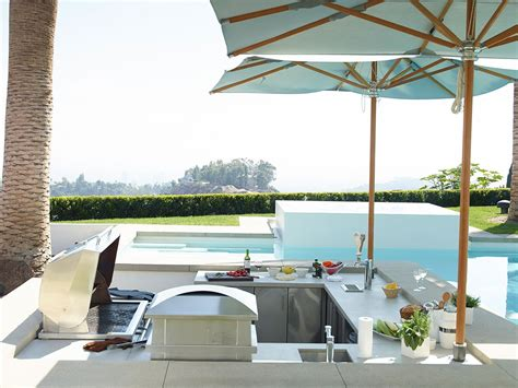 pool and outdoor kitchen designs best of modern outdoor kitchen with pool orchidlagoon 7523