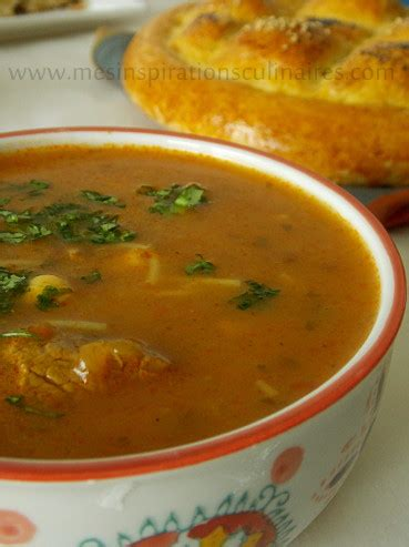 sherazade cuisine harira de sidi bel abbes de sherazade blogs de cuisine