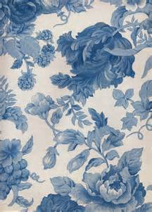 vintage blue floral wallpaper a tablecloth made of a fabric similar to this pattern would look lovely http www