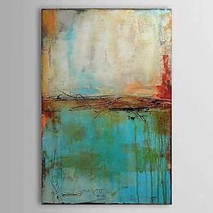 peint a la main abstrait verticaletraditionnel un panneau With panneau de couleur peinture murale 5 tableau abstrait abstract face