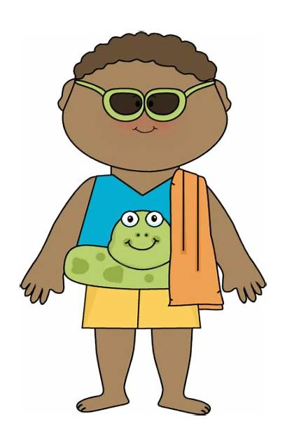 Clip Summer Boy Clipart Ready Outfits Mycutegraphics