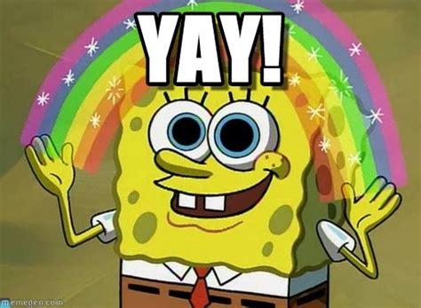 Yay Meme Face - yay imagination spongebob meme on memegen