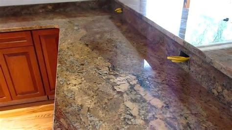 crema bordeaux custom granite countertop youtube