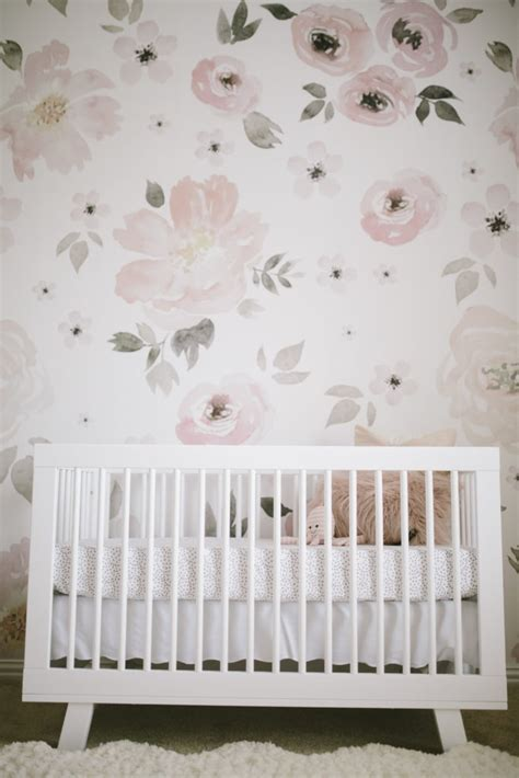 pink and gray bedroom designs 39 s floral whimsy nursery project nursery