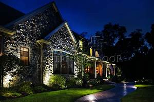 Image gallery outdoor landscape lighting