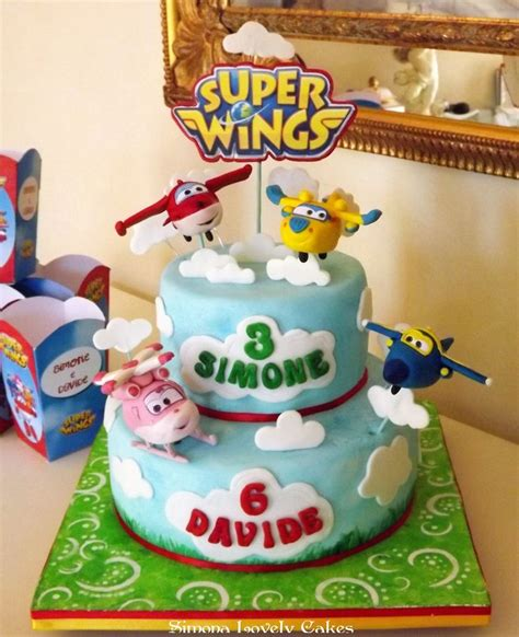 superwings cake cute cake   brithday cake