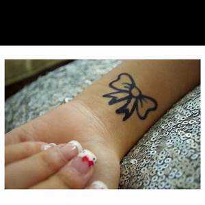 Bow tattoos, Bows and Hip bones on Pinterest