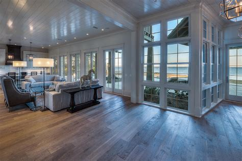 floor to ceiling glass windows florida waterfront home for sale home bunch interior design ideas