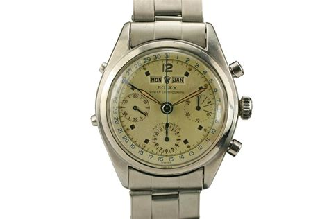 1953 Rolex Chronograph Datacompax Ref 6036 Watch For Sale ...