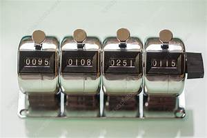 Manual Cell Counter - Stock Image - C034  1904