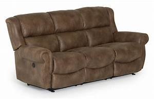 best home furnishings terrill transitional power space With best reclining sofa