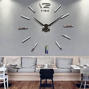 Große Wanduhr Modern : wanduhr dekoration uhr gro e wanduhr diy 3d modern clock wandaufkleber raum home dekorationen ~ Eleganceandgraceweddings.com Haus und Dekorationen