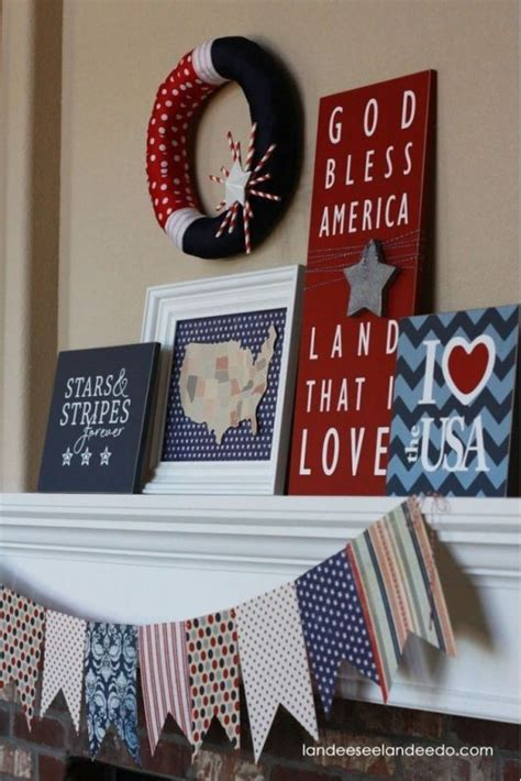 4th of july diy decorations diy 4th of july decor ideas summer pinterest