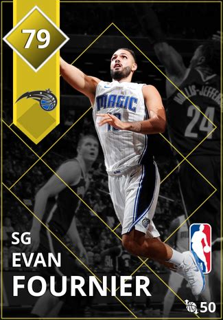 evan fournier  myteam gold card kmtcentral